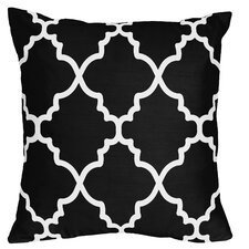 Trellis Microfiber Throw Pillow (Set of 2)