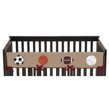 All Star Sports Long Crib Rail Guard Cover