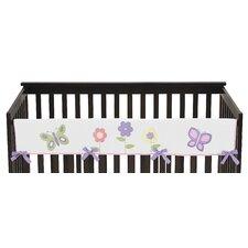 Butterfly Long Crib Rail Guard Cover