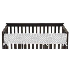 Diamond Long Crib Rail Guard Cover