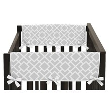 Diamond Side Crib Rail Guard Cover (Set of 2)
