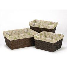 Annabel 3 Piece Basket Liner Set