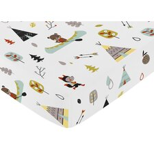 Outdoor Adventure Crib Fitted Sheet