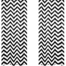 Chevron Curtain Panel (Set of 2)