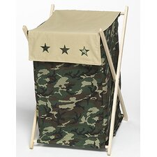 Camo Green Laundry Hamper