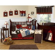 Wild West Cowboy 9 Piece Crib Bedding Set