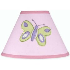 "10"" Butterfly Cotton Empire Lamp Shade"