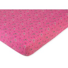 Bandana Fitted Crib Sheet