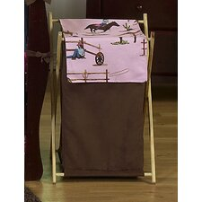 Cowgirl Laundry Hamper