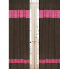 Cowgirl Chocolate and Bandana Print Curtain Panels (Set of 2)