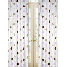 Mod Dots Cotton Curtain Panels (Set of 2)