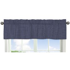Arrow Hexagon Print Curtain Valance
