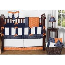 Arrow 9 Piece Crib Bedding Set