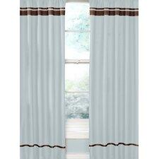Hotel Cotton Rod Pocket Window Curtain Panel (Set of 2)