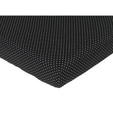 Madison Polka Dot Fitted Crib Sheet