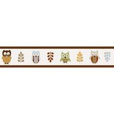 """Night Owl 15' x 6"""" Border Wallpaper"""