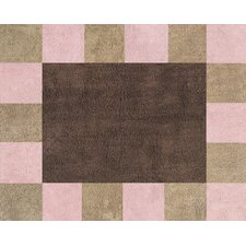 Soho Pink and Brown Outdoor Area Rug