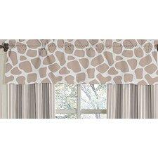 """Giraffe 54"""" Curtain Valance"""