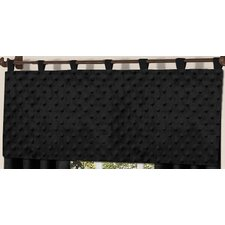 "Minky Dot 54"" Curtain Valance"
