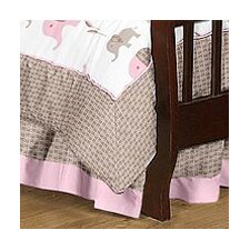 Elephant Toddler Bed Skirt