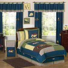 Construction Zone Kid Bedding Collection