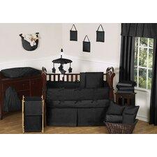 Minky Dot 9 Piece Crib Bedding Set