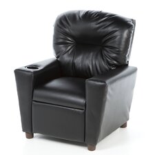 Cup Holder Leather Like Kid's Recliner