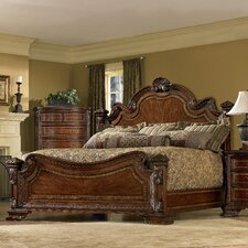 Old World Estate Panel Bed