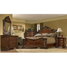 Old World Panel Customizable Bedroom Set