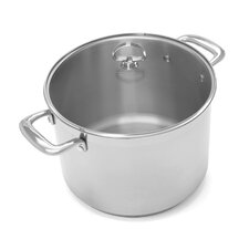 Induction 21 Steel™ 8-Qt. Stock Pot with Lid