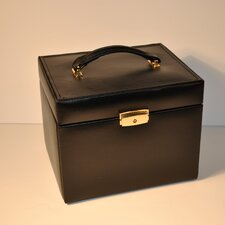 Ladies Classic Jewelry Box Travel Case