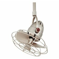 """16"""" Diane Oscillating 3 Metal Blade Ceiling Fan with Remote"""