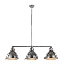Vintage 3 Light Kitchen Island Pendant