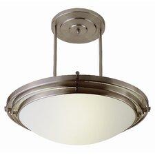 Contemporary 1 Light Inverted Pendant