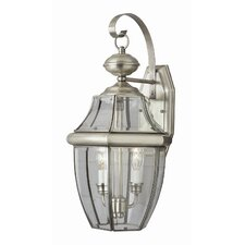 Outdoor 2 Light Wall Lantern