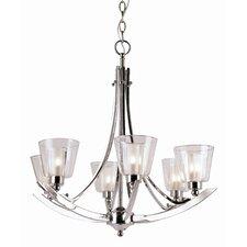 Energy Efficient Indoor 6 Light Chandelier