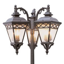 "Outdoor 9 Light 24.75"" Post Lantern Set"