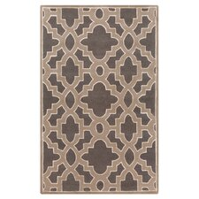 Modern Classics Charcoal/Light Brown Area Rug