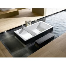 "Bassino 79"" x 39"" Soaking Bathtub"