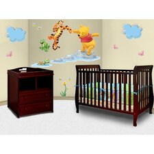Naomi 4-in-1 Convertible 2 Piece Crib Set
