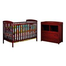 Leila 2 Piece Crib Set