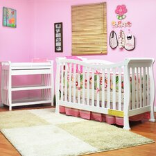Nadia Convertible 2 Piece Crib Set