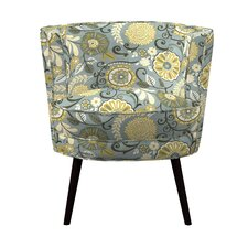 Lily Multi-Colored Barrel Chair