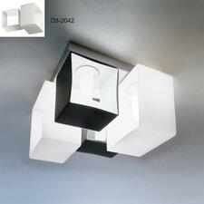 Domino 4 Light Flush Mount
