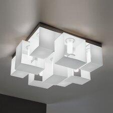 Domino 9 Light Flush Mount