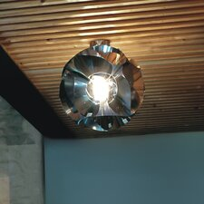 Floral Flush Mount in Chrome