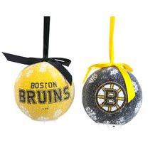 NHL LED Boxed Ornament Set