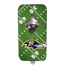 NFL Magnetic Bottle Opener
