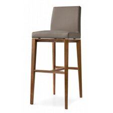 "Bess 25.6"" Bar Stool with Cushion"