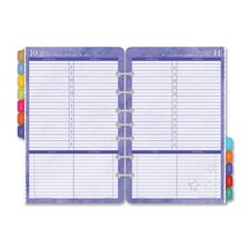 "Planner Refill For Flavor Cal, Jan-Dec, 1PPD, 5-1/2""x8-1/2"", 2013"